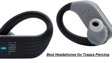 Best Headphones for Tragus Piercing