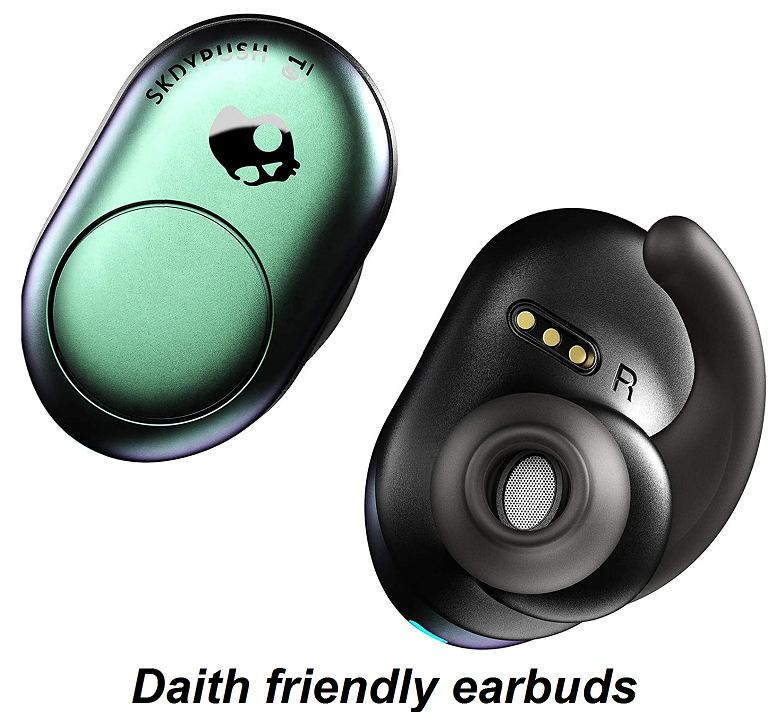 daith friendly earbuds