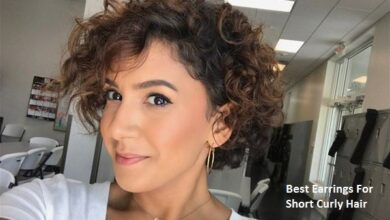 Best Earrings For Short Curly Hair