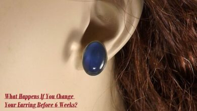 What Happens If You Change Your Earring Before 6 Weeks