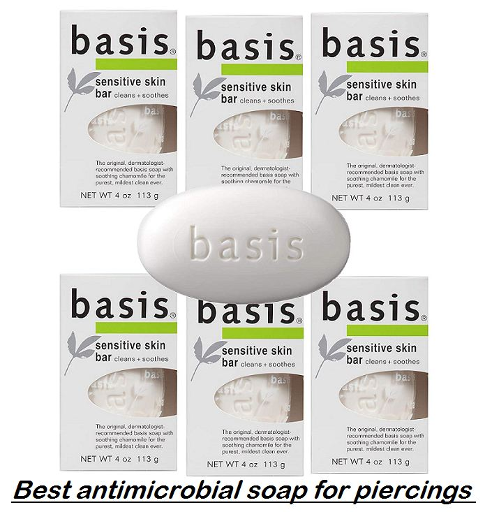 best antimicrobial soap for piercings