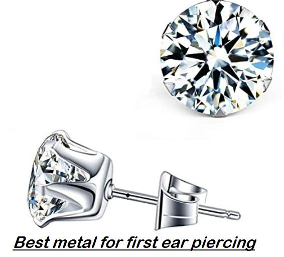 best metal for first ear piercing