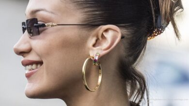 Hoop Earrings You Can Sleep in