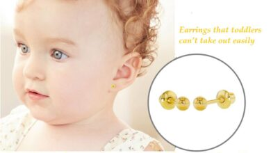 earrings that toddlers cant take out