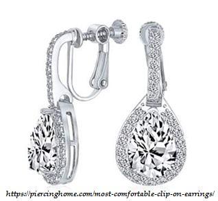 screw back clip on earrings