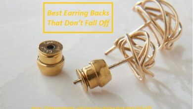 Earring Backs That Don't Fall Off