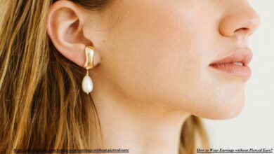 How to Wear Earrings without Pierced Ears