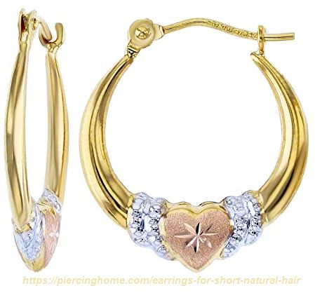 earrings to wear with very short hair