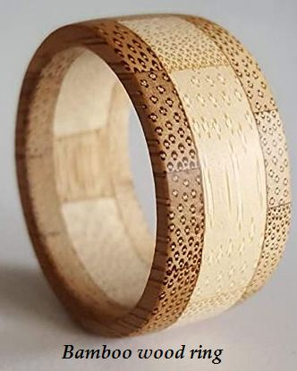 bamboo wood ring