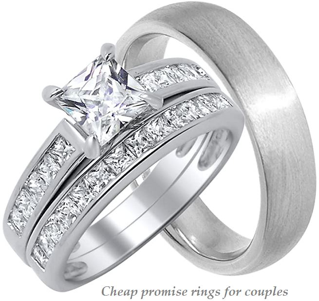 cheap promise rings for couples