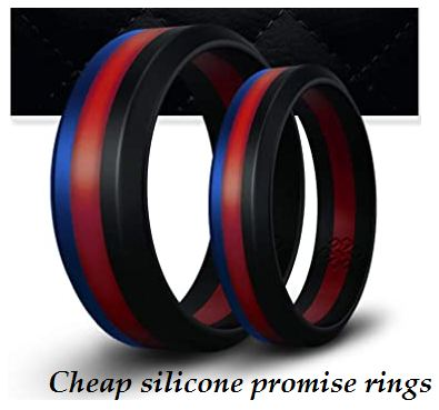 cheap silicone promise rings