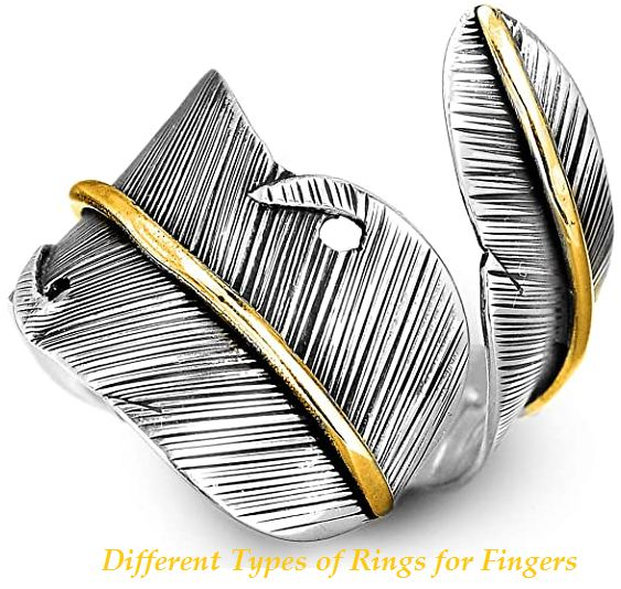 different types of rings for fingers