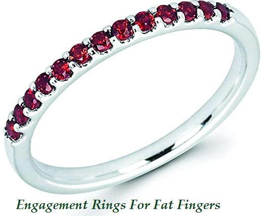 engagement rings for fat fingers