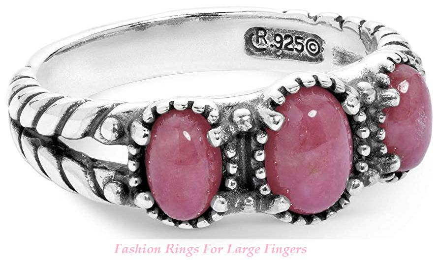fashion rings for large fingers