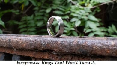 inexpensive rings that wont tarnish