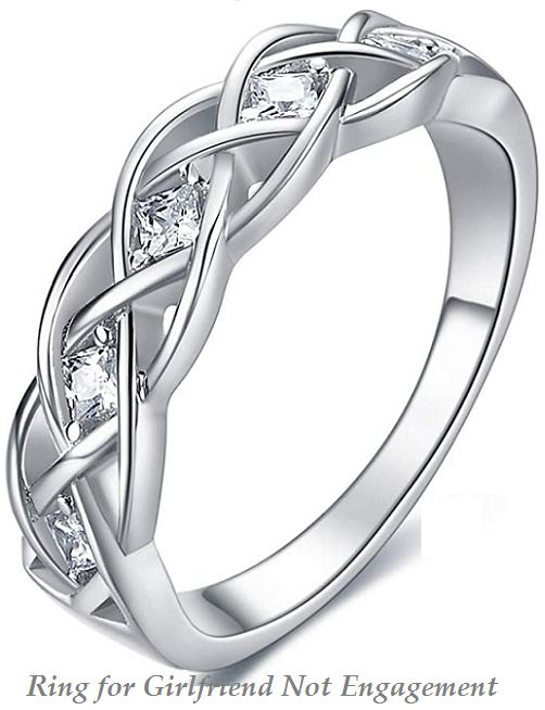ring for girlfriend not engagement