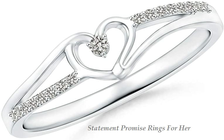 statement promise rings for her