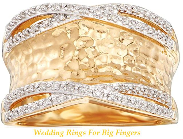 wedding rings for big fingers