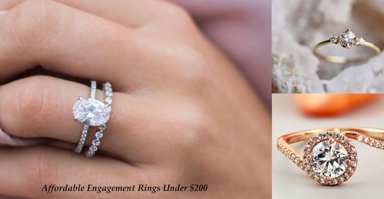 Affordable Engagement Rings Under $200