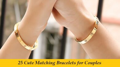 Cute Matching Bracelets for Couples