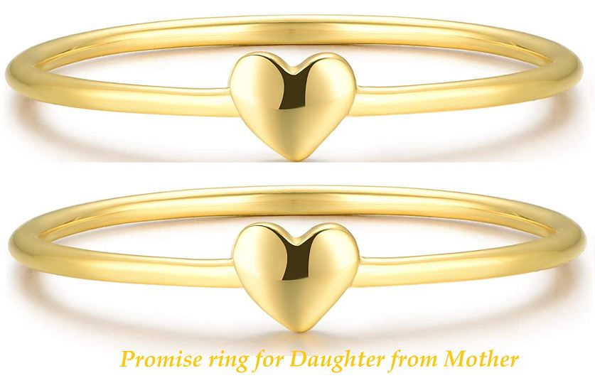 Promise ring for Daughter from Mother