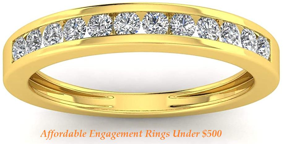 affordable engagement rings under $500