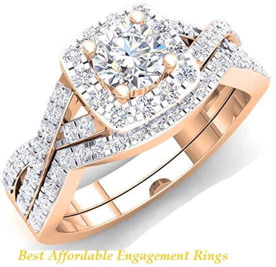 best affordable engagement rings