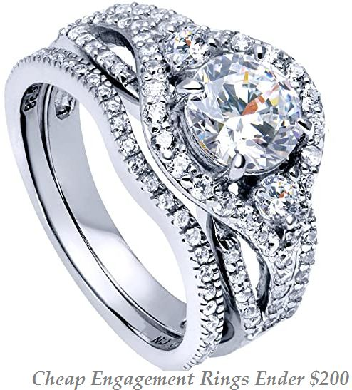 cheap engagement rings under 200