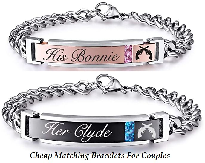 cheap matching bracelets for couples