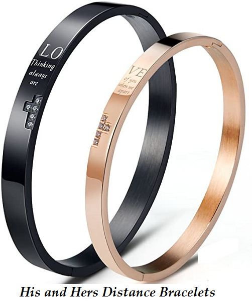his and hers distance bracelets