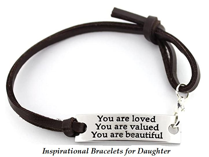 inspirational bracelets for daughter