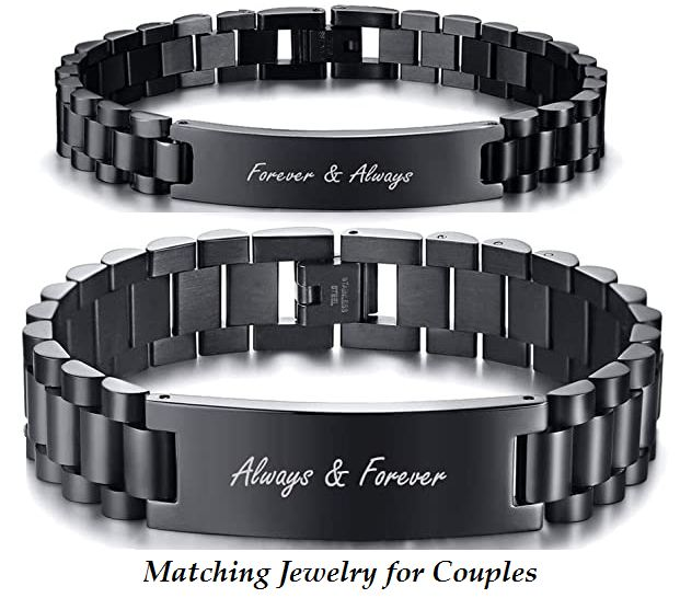 matching jewelry for couples