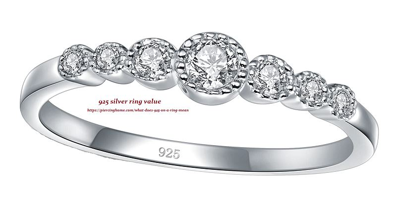 925 silver ring value (Heading 10)