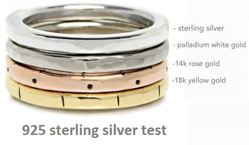 925 sterling silver test