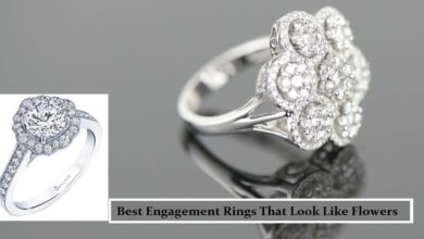 Best engagement rings that look like flowers
