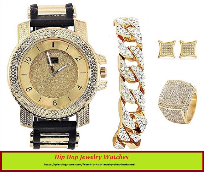 Hip Hop Jewelry Watches