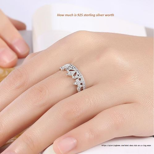 How much is 925 sterling silver worth