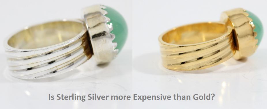 Is Sterling Silver more Expensive than Gold