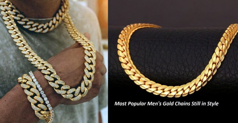 Most Popular Mens Gold Chains