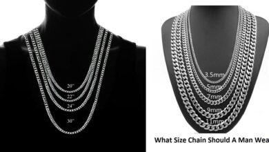 What Size Chain Should A Man Wear