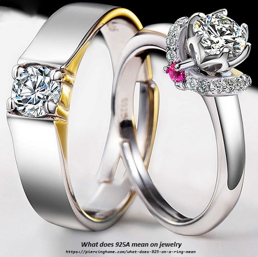 What does 925A mean on jewelry