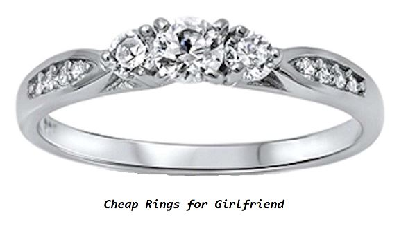cheap rings for girlfriend