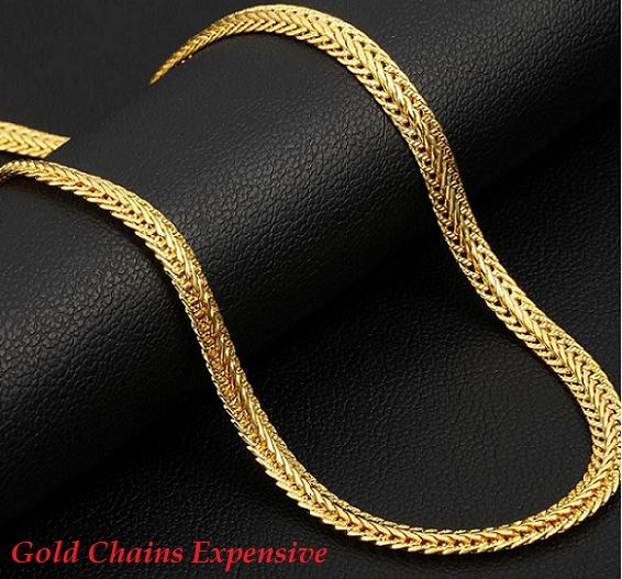 gold chains expensive