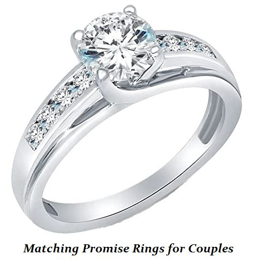 matching promise rings for couples