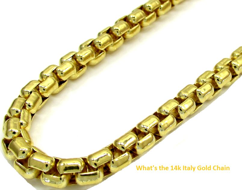 whats the 14k italy gold chain
