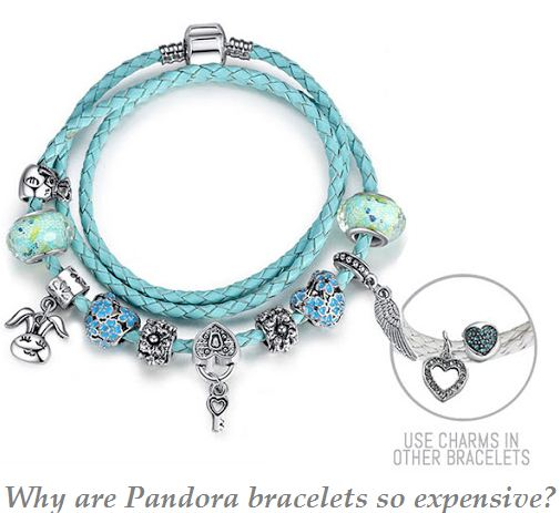 why are pandora bracelets so expensive
