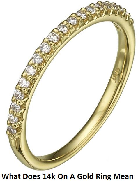 What Does 14k On A Gold Ring Mean