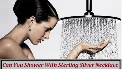 can you shower with sterling silver necklace