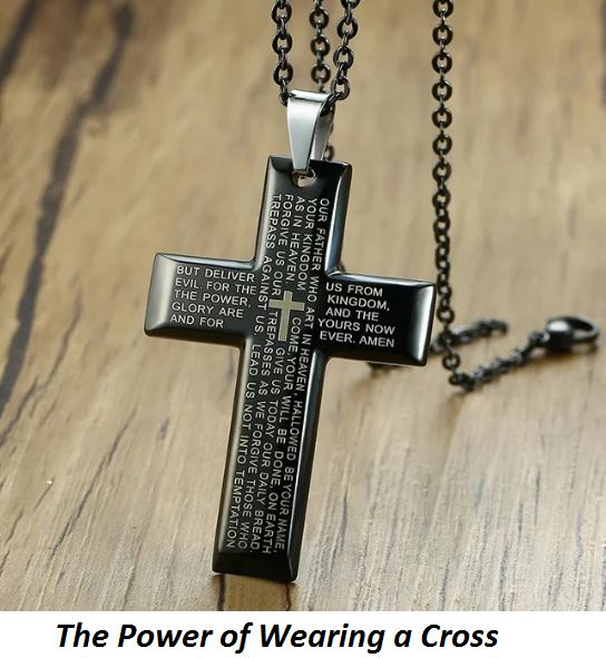 the power of wearing a cross