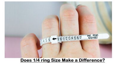 Does 1 4 ring Size Make a Difference